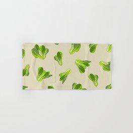 Lettuce Bok Choy Vegetable Hand & Bath Towel