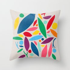 Found Objects Throw Pillow
