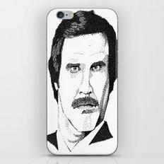 I'm Ron Burgundy? iPhone Skin