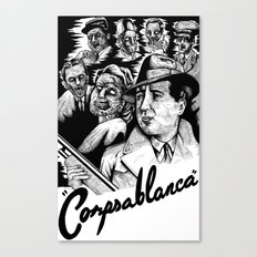 Corpsablanca Canvas Print