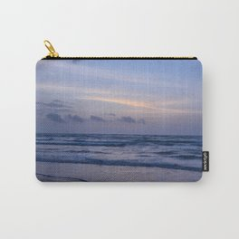 Blue Morning at the Beach Carry-All Pouch