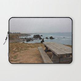 Sea Bench Laptop Sleeve