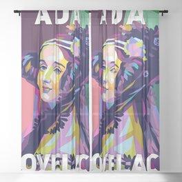 Ada Lovelace Sheer Curtain