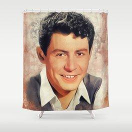 Eddie Fisher, Music Legend Shower Curtain