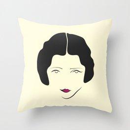 Actress Throw Pillow