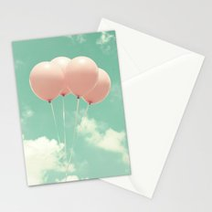 Pink Bow Stationery Cards