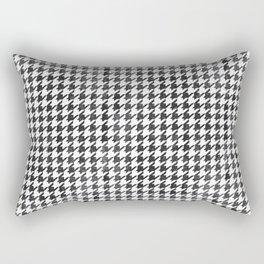 Rugged Houndstooth  Rectangular Pillow