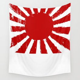 Japan Rising Sun Wall Tapestry