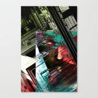 federico babina Canvas Prints featuring Federico on his balcony by Fernando Cardoso