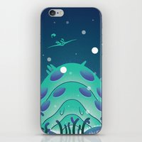 nausicaa iPhone & iPod Skins featuring Nausicaa Valley of the Wind by Oliver Sin