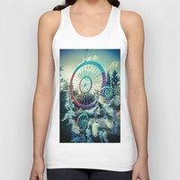 dream catcher Tank Tops featuring Dream Catcher by Sandy Broenimann