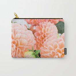 Coral Dahlias 04 Carry-All Pouch