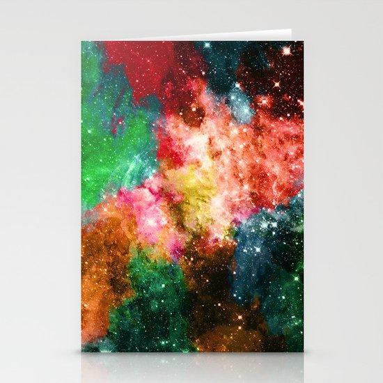 Rainbow Galaxy Stationery Cards