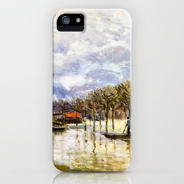 The Flood On The Road To Saint-germain - Digital Remastered Edition iPhone Case