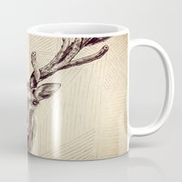 elk Mugs featuring Elk  by Werk of Art