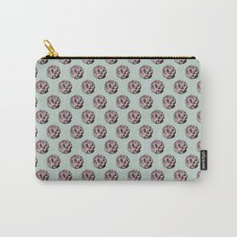 Pink succulents Carry-All Pouch