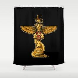 Spirit Totem Shower Curtain