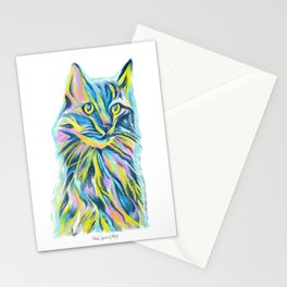 Cat of Many Colors Stationery Cards