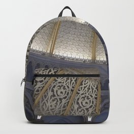 At the music hall Backpack