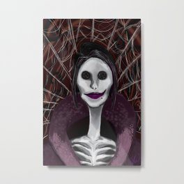 Coraline: The Other Mother Metal Print