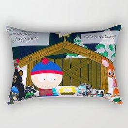 Critter Christmas Rectangular Pillow