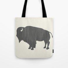 Buffalo Silhouette Tote Bag