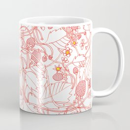 Strawberry World Coffee Mug