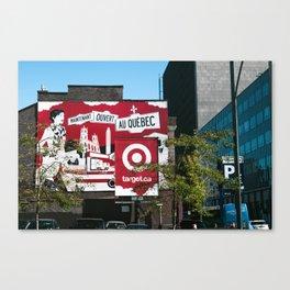 Target Quebec Canvas Print