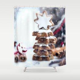 Christmas bakery Shower Curtain