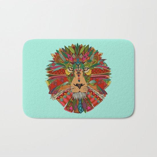 lion mint Bath Mat