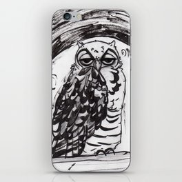 Night Owl v.1 iPhone Skin