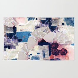 patchy collage Rug