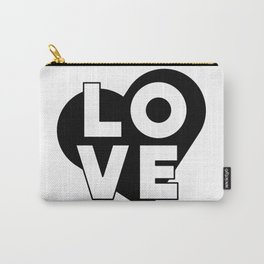 LOVE & heart Carry-All Pouch