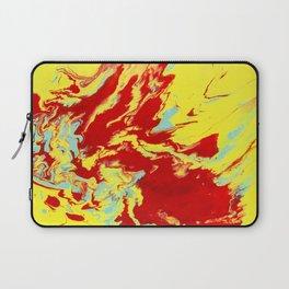 Crimson Wave Laptop Sleeve