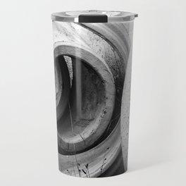 Soft lines, hard surface Travel Mug