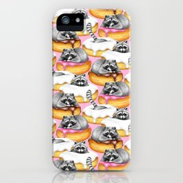 The Sweet Dreams of a Trash Panda  iPhone Case