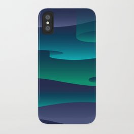 WINTER SKIES iPhone Case