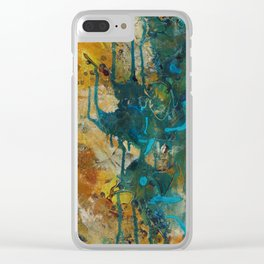 The Canyon Series (Whole Piece) Clear iPhone Case