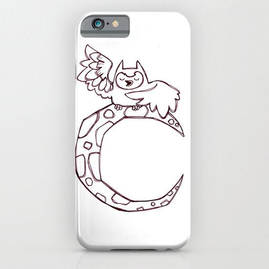Owl sing for the moon iPhone & iPod Case