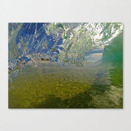 Crystal Clear Canvas Print
