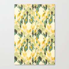 des-integrated tartan pattern Canvas Print