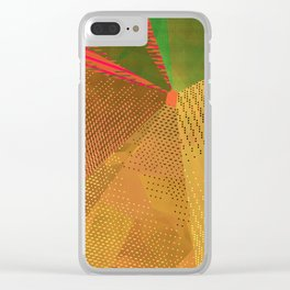 Textures One Version Two Clear iPhone Case