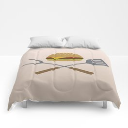 Jolly Burger Comforters