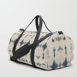 Shibori Soundwaves Duffle Bag