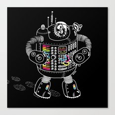 Panda Music Jaeger Canvas Print