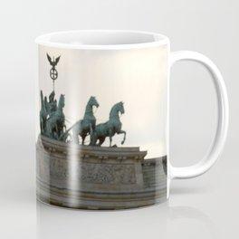 Brandenburger Tor at Pariser Platz Berlin Coffee Mug