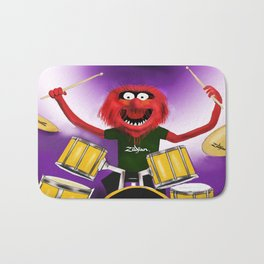 Animal Drummer Bath Mat