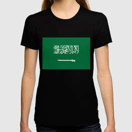National flag of  the Kingdom of Saudi Arabia - Authentic version to scale and color T-shirt