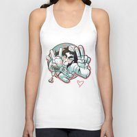 yaoi Tank Tops featuring Plushie! by kami dog