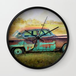 Old and Rusty Wall Clock
